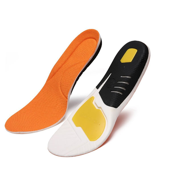 Stylish Step Anti Fatigue Orthorics PU Insoles for Adults ZG-209