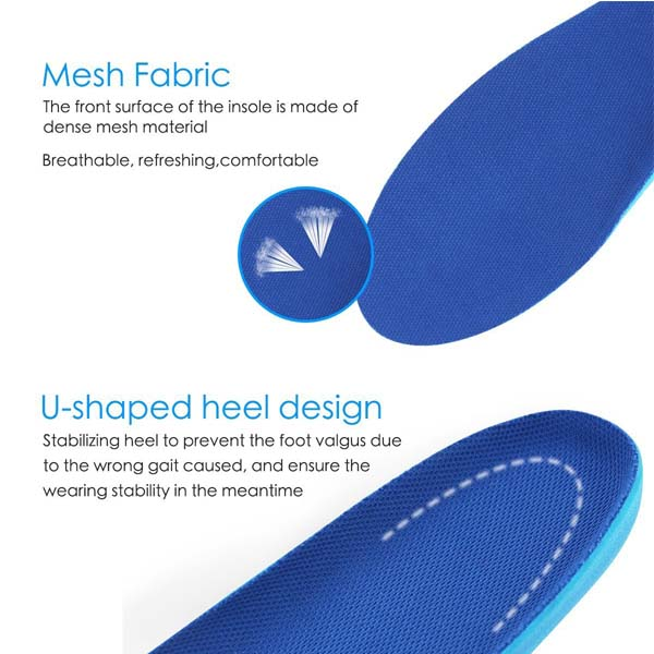 Adults Comfort & Energy Full Length PU Insole For All Activity ZG-280