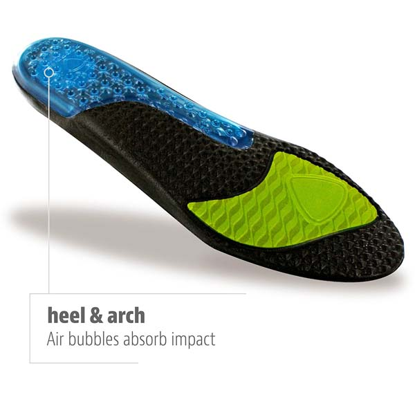 Airr Orthotic Full Length Insoles For Lifting Shoes Performance Insoles For Men And Women ZG-203