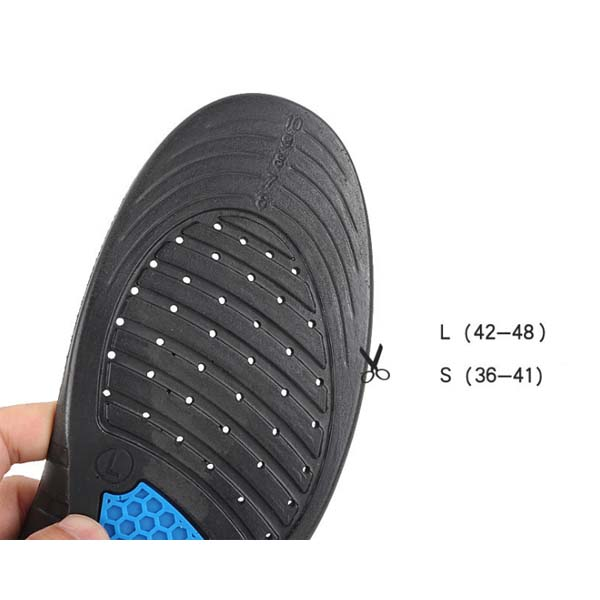 Arch Support Flat Feet Orthotic Pu Insole For Standing/Sports/Casual Shoes/Golf/Walking/Running ZG-331