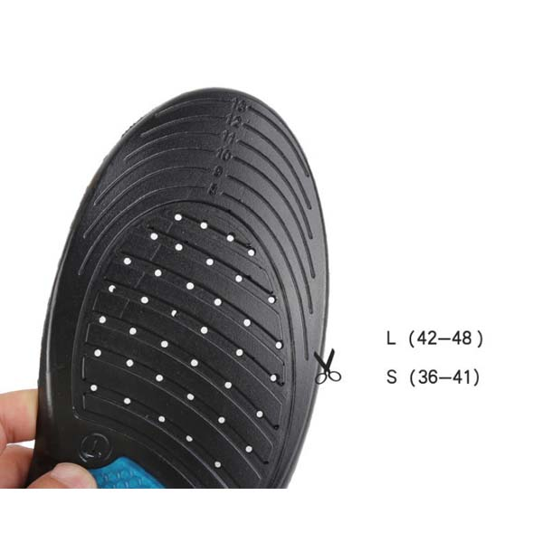 Athletic Shoes Insoles Stylish Step Pu Poron Foam Insoles ZG-332