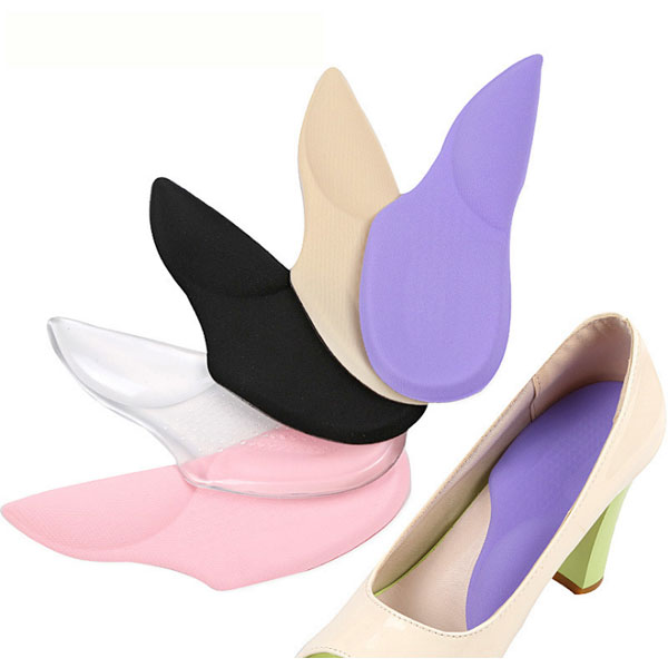Amazon Hot Selling Women High Heel Shoes Transparent PU Gel Cushion Pad ZG-412