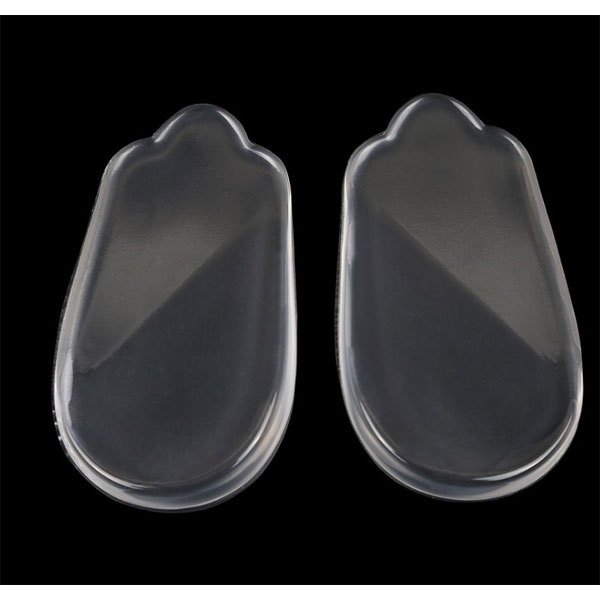 Most Popular Transparent Silicone Massage Insert Custom Orthotic Pu Gel Insole ZG-411