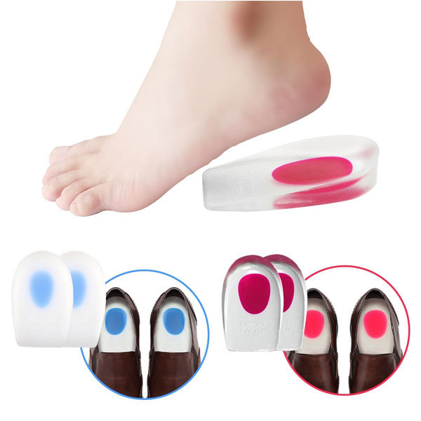 New Design Shoe Inserts Cup Heel Silicone Gel Cushion For Adults ZG-276