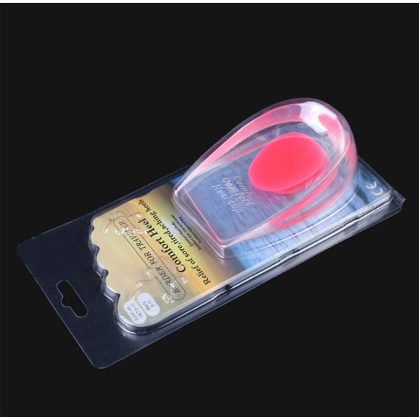 Height Increase Gel Heel Cushion Insoles For Shoes Heel Pain Relief For Adults ZG-454