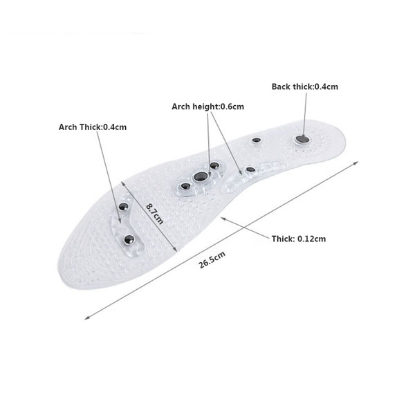 2018 New Design Hot Selling Foot Magnetic Insole For Adults ZG-486