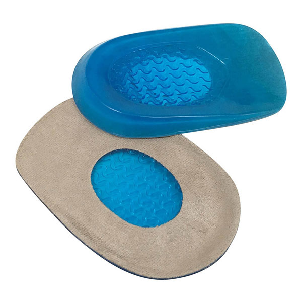Gel Heel Cups for Heel Spurs Massaging Cushions Provide Foot Relief ZG-1897