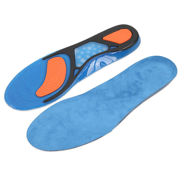 f4c3daaf653e Amazon High Elastic Shock Absorption Plantar Fasciitis Relief Foot Care  Silicone Gel Sports Sneaker Insole ZG