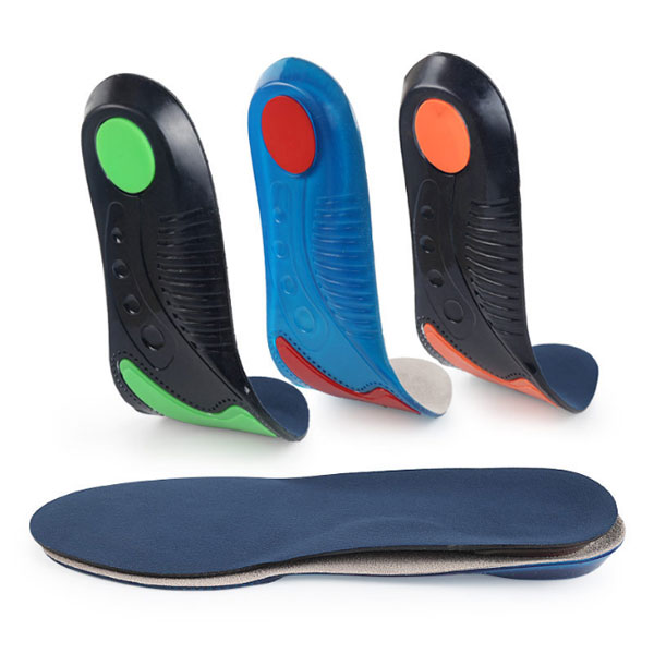 Amazon Hot Selling Comfortable Cushion TPE Gel Insoles For Women and Men ZG-219