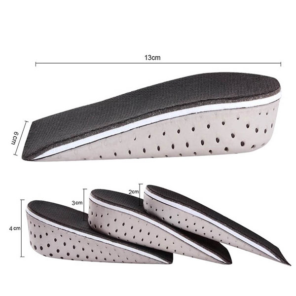 Light Weight Soft EVA Memory Foam Shoe Insoles For Increasing Height ZG-1842