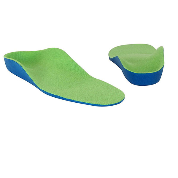 2018 Hot Selling High Arch Orthotics Shock Absorption Pain Relief Sport EVA Insole For Child ZG-250