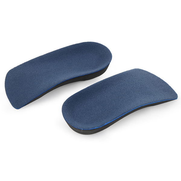 3/4 Length Orthotic Arch Support Correction Insoles For Bowleg ZG-323