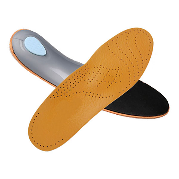 Comfort Cow Leather Arch Support Orthotics Full length Insoles for Adults ZG-1861