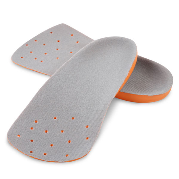 Fashion Style OEM Arch Support PU Foam Insole 3/4 Orthotics Shoe Insoles ZG-326