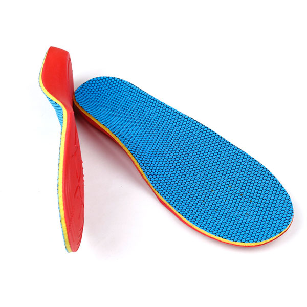 Kids Orthotic Insole Memory Form Deep Heel Orthopedic Insert For Children ZG-314