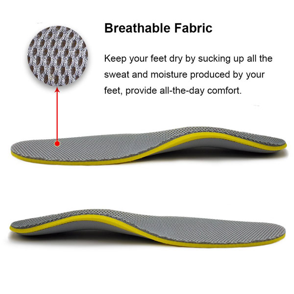 Modern Design Comfortable Orthotic Healthy Insole For Women and Men ZG-279