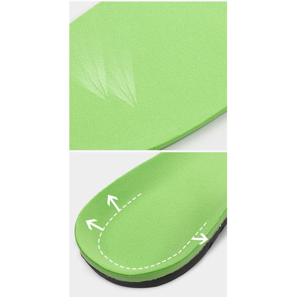 Reusable Anti-Friction PU Insole Orthotic Shoe Insole For Women And Men ZG-390