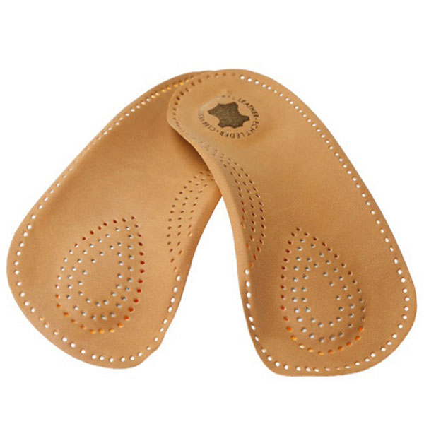 Sheepskin Genuine Leather Insert Metatarsal Massage Arch Support Orthotics Shoe Insoles ZG-1863