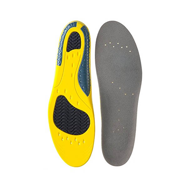 Gel PU Sport Insoles Orthotic Arch Support Heel Cushion Insoles ZG-1857