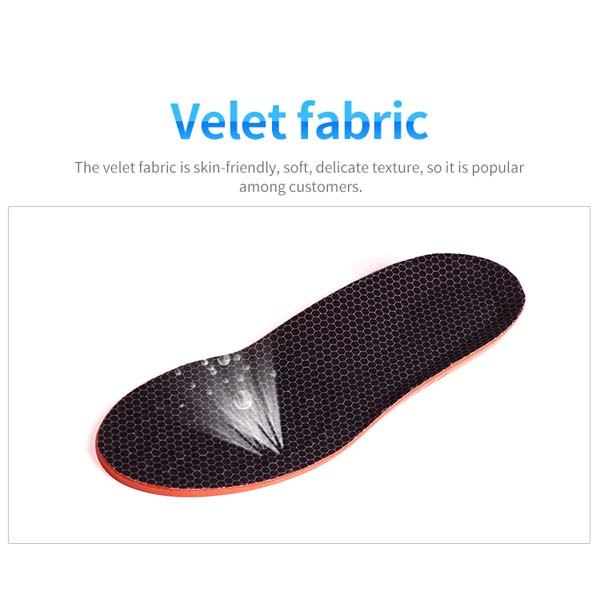 Athletic Insole PU Foam Shock Absorption OEM ODM Small Order Sport Insoles ZG-1883