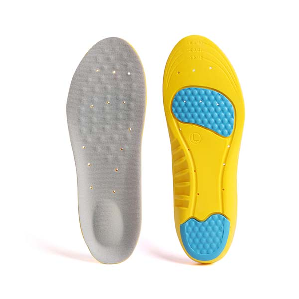 PU Foam Shock Absorbing Sport Insole With Arch Support For Walking/Running/Hiking/Casual Shoes  ZG-1891