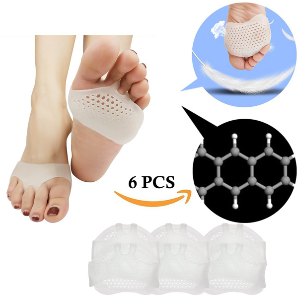 Metatarsal Pads Ball of Foot Cushion Breathable Soft Gel For Diabetic Feet Callus Blisters Forefoot Pain ZG-246
