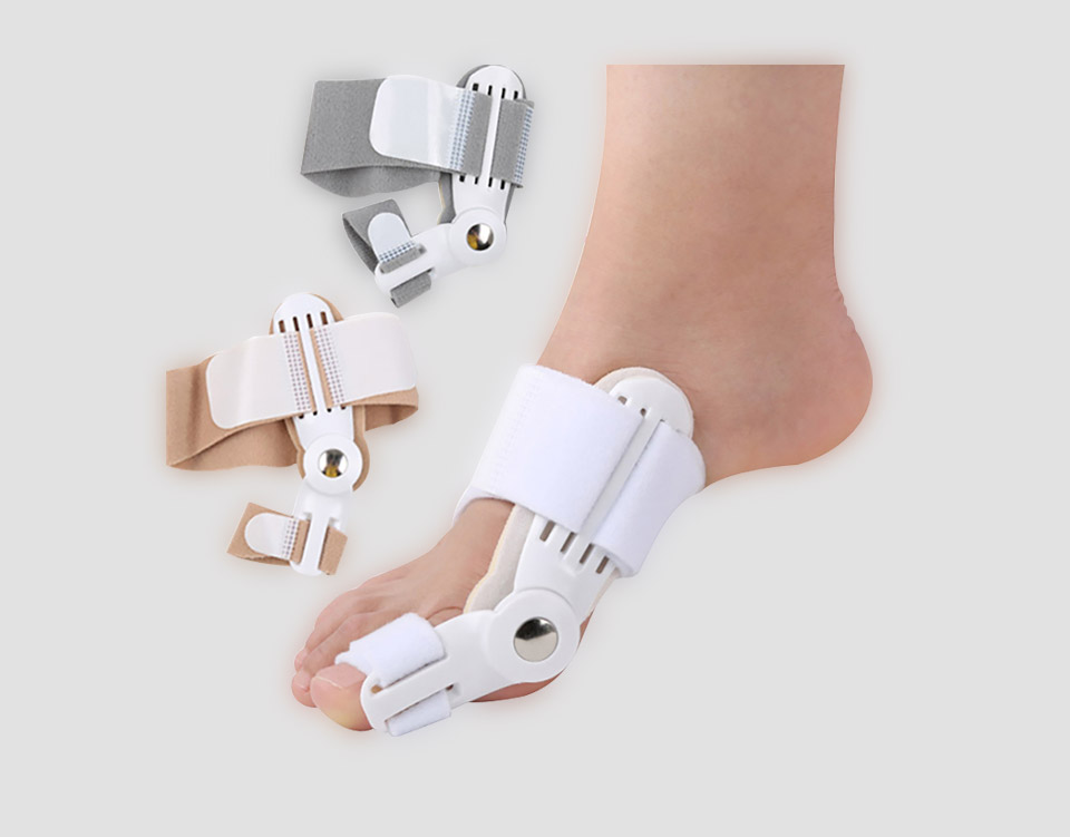 Toe care and Hallux Valgus Orthosis