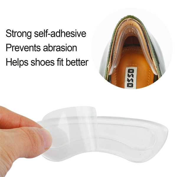 Super Soft Heel Cushion Pad Pain Relief Comfortable Heel Grip and Liner ZG-201