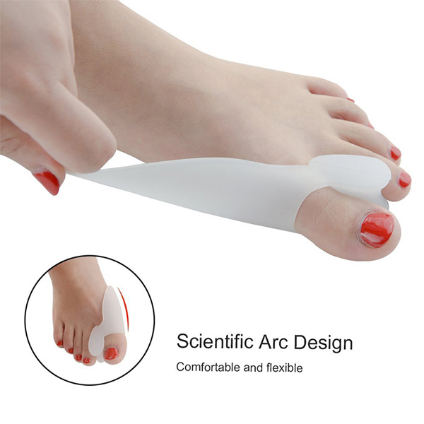 Medicus Hallux Valgus Pro Toe Separators for Bunion Protectors ZG-228