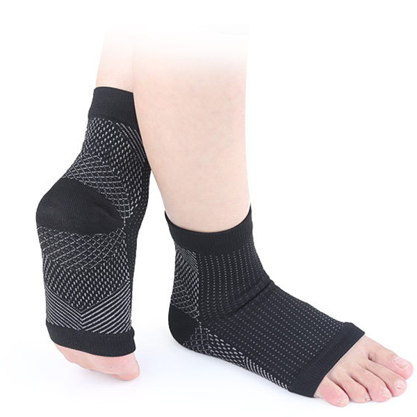 Nylon Ankle Sport Support Sock Plantar Fasciitis compression socks ZG-370