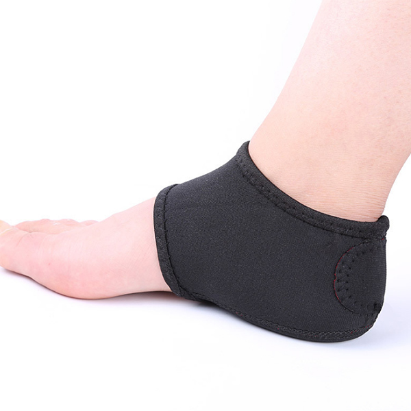 Free Size Silicone Heel and Ankle Protector Heel Cushion Sock ZG-S371