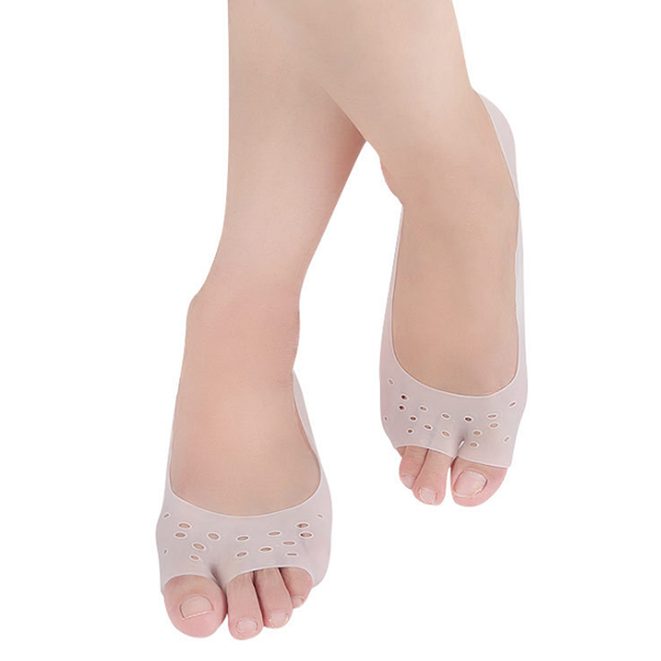 New Arrival Daily Use silicone moisturizing gel heel socks ZG-S397