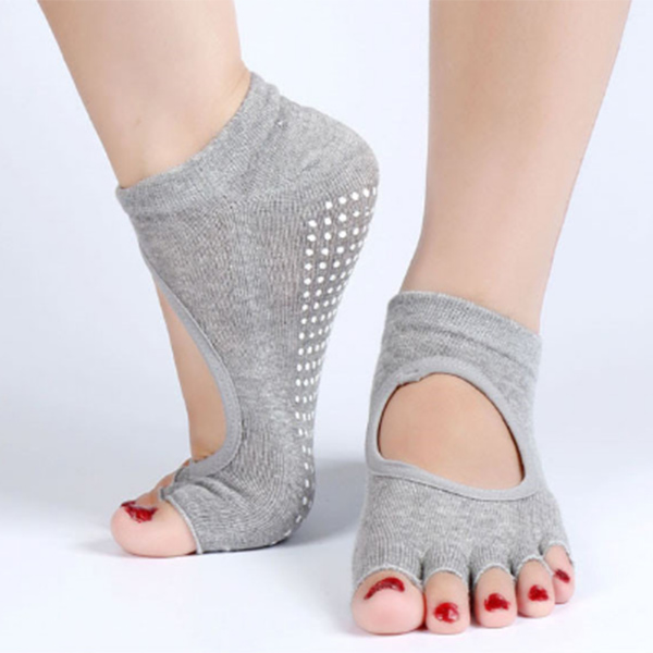 Top Quality Customized Non Slip Yoga Grip Socks For Women ZG-301