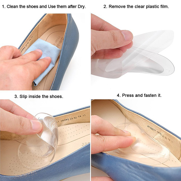 New Arrival Daily Use Silicone Gel silicone Foot Pads ZG-255