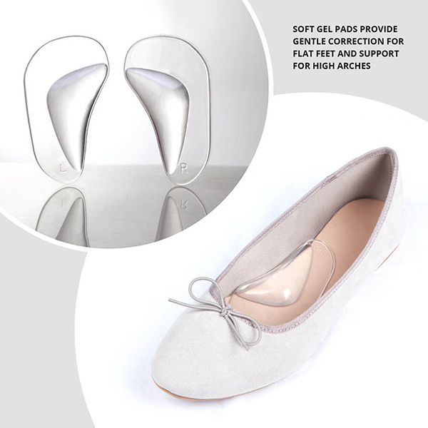 Arch Support Shoe Insert for Flat Feet Plantar Fasciitis Insoles Relieve Pain for Women and Men ZG-257