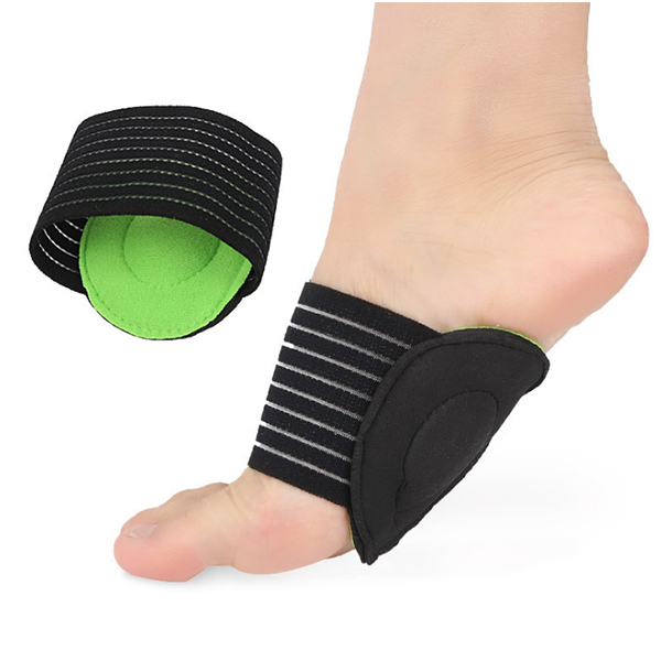 Foot Arch Support Plantar Fasciitis Heel Pain Aid Foot Run-up Pad Feet Cushioned Cushioned Shoes Insole Sports Accessory ZG-386
