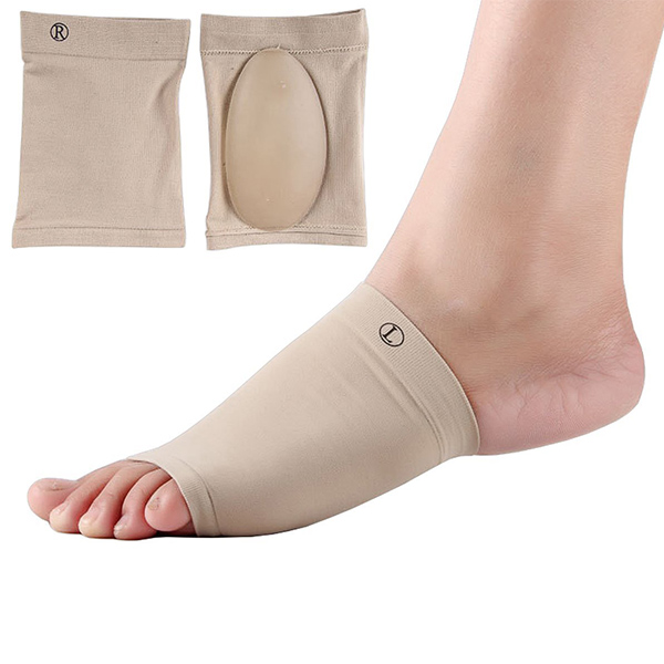 Arch Support Sleeve Flat Feet Orthotics Socks Cushion Gel Plantar Fasciitis Socks ZG-1803