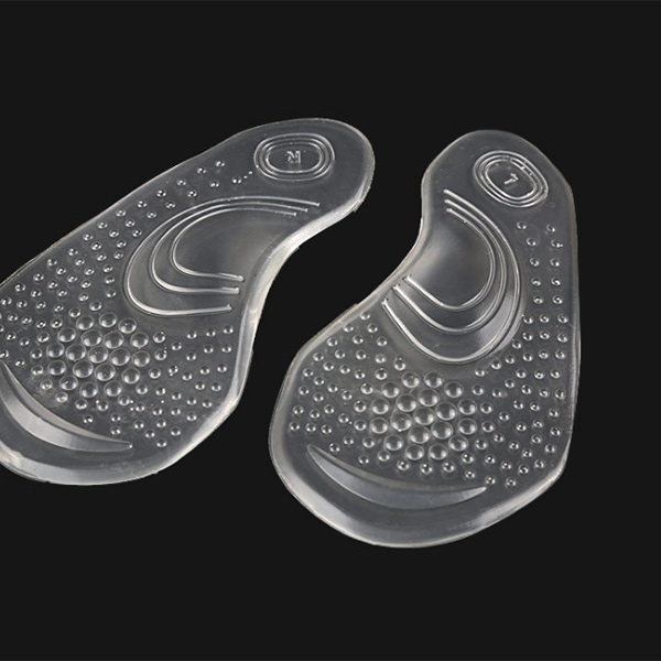 Factory price new promotion silicone gel insole arch support inserts ZG-407