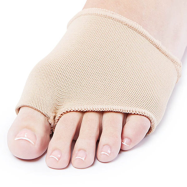 Metatarsal Gel Sleeve Forefoot Cushion Pad Supports Ball of Foot Health ZG-258