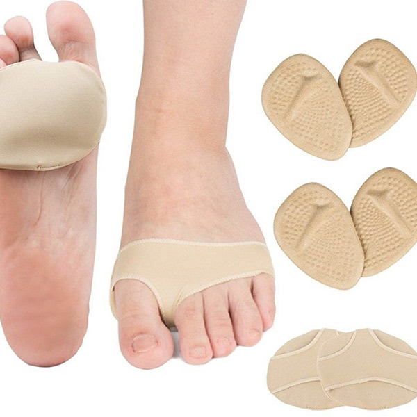 Ball of Foot Cushions Self-Sticking Metatarsal Pads for Pain Relief ZG-269