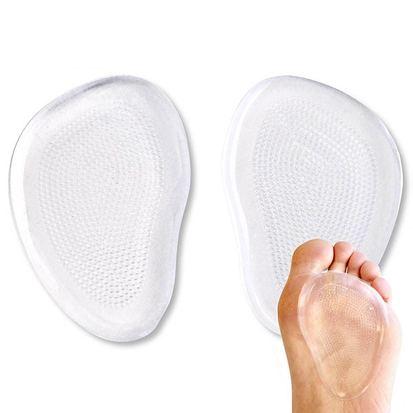 Gel Forefoot Pads For High Heels Pain Relief Anti slip Elastic Cushion ZG-278