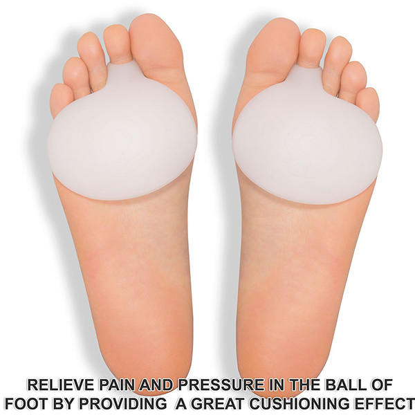 New Products Medical Silicone Original Metatarsal Pads Gel Pad Ball of Foot Cushions Rapid Foot Pain Relief ZG-282