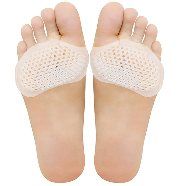 1 Pair Soft Gel Metatarsal Pad Foot Care Pain Relief Ball Of Forefoot Cushion Pad ZG-283