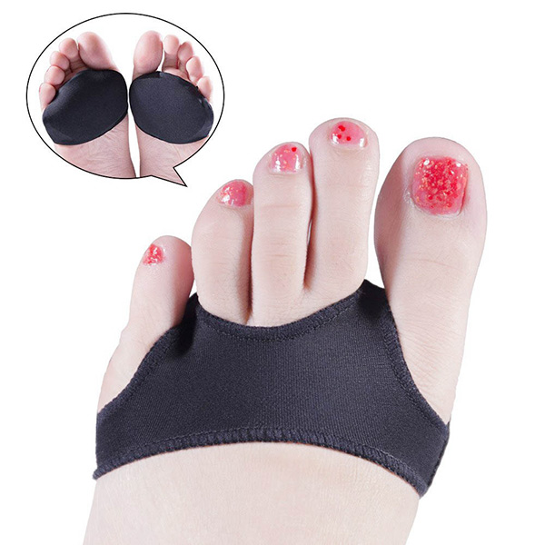 e0f71f1b8e914 Ball of Foot Cushion Gel Foot Pad Metatarsal Pads Forefoot Shoe ...