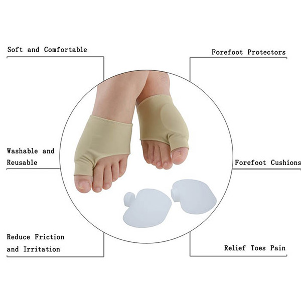 Wholesale Gel Hallux Valgus Bunion Orthosis Corrector for High Heel ZG-1804