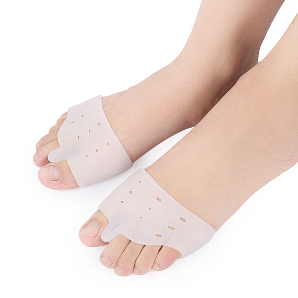 2018 Breathability Shock Absorption Gel Forefoot Protector Orthotic Toe Separator ZG-428
