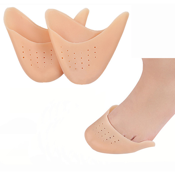 Wholesale Hot Sale Washable Silicone Ballet Toe Pads Durable Massaging Insoles ZG-443