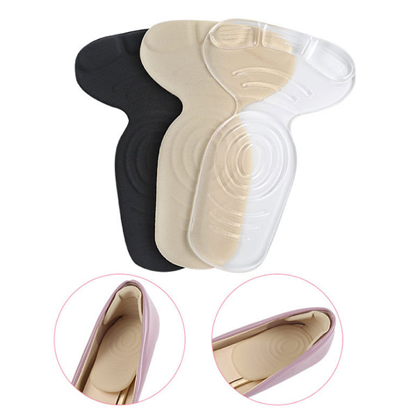 Quick Order Anti slip Shoe Pads Back Liner Shoes Grip Insoles for High Heels   ZG-335