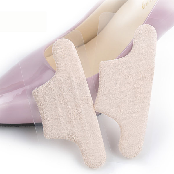 New Style Silicone Gel Heel Grips Cushion Back Pads fabric heel grips ZG-365