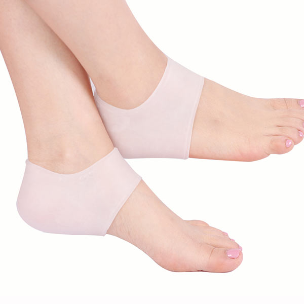 Manufaturer Wholesale Gel Socks for Cracked Feet Silicone Gel heel protector ZG-401
